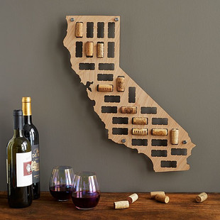 Add your favorite wine corks to remember what you love!