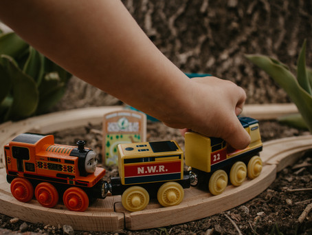 Boosting creativity with Thomas & Friends™ Wood Track & Engines