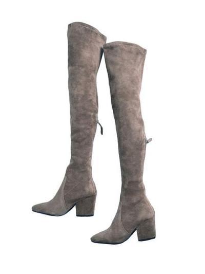 Carina Taupe GM boots