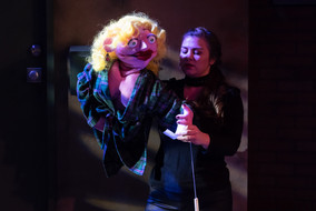 Lucy in Avenue Q with Blank Canvas Theat