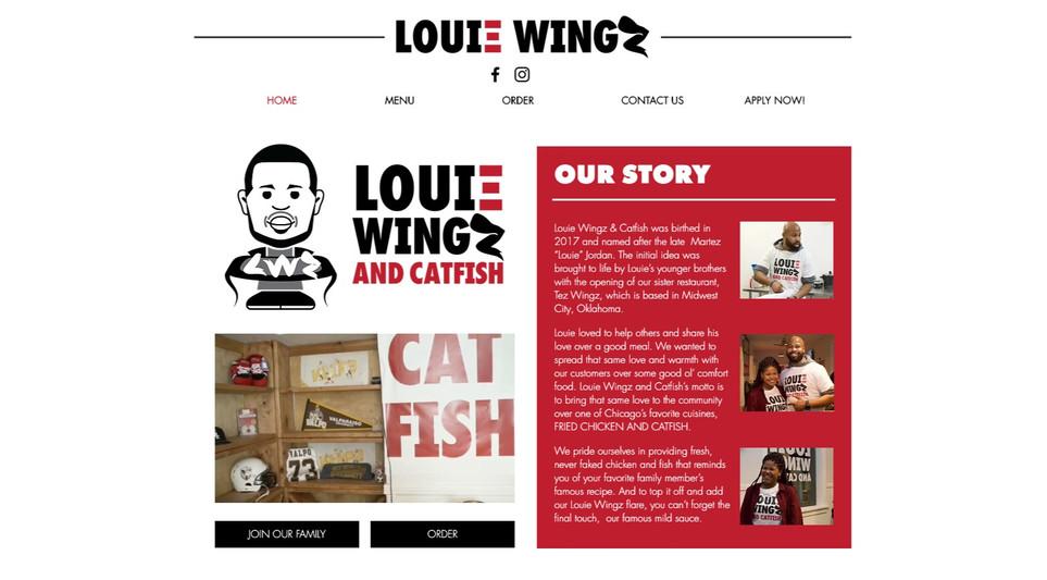 LOUIE WINGZ & CATFISH