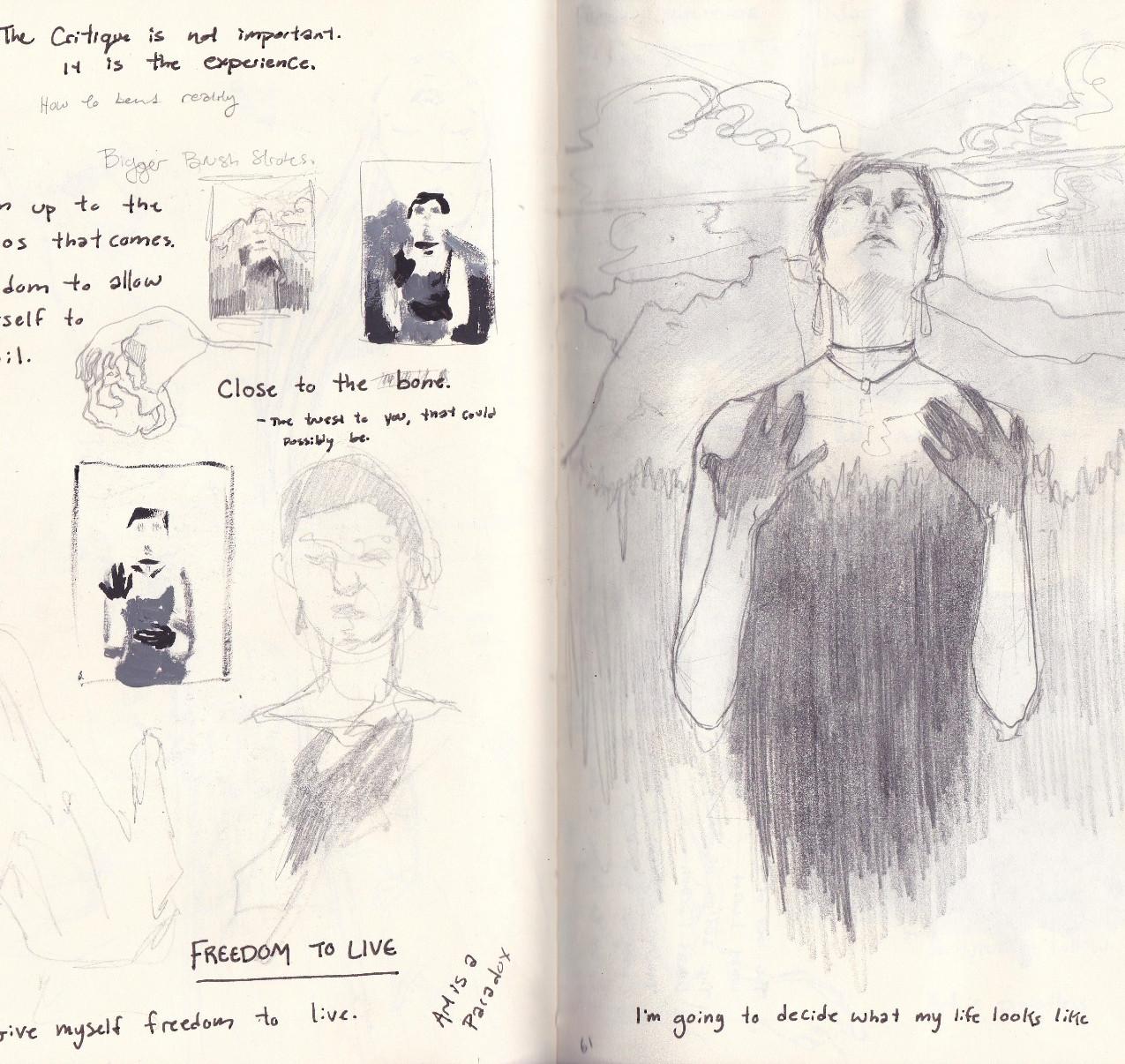 2015 sketchbook