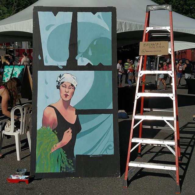 Had an awesome day with _vanmuralfest at