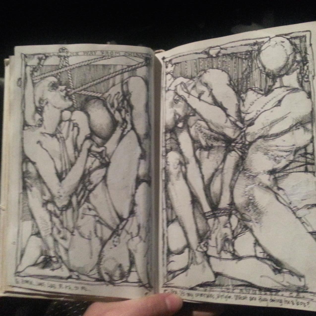 Barron Story Sketchbook