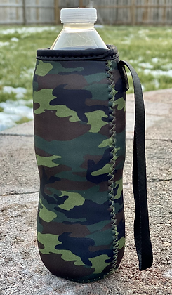 Camouflage Water Bottle Cooler