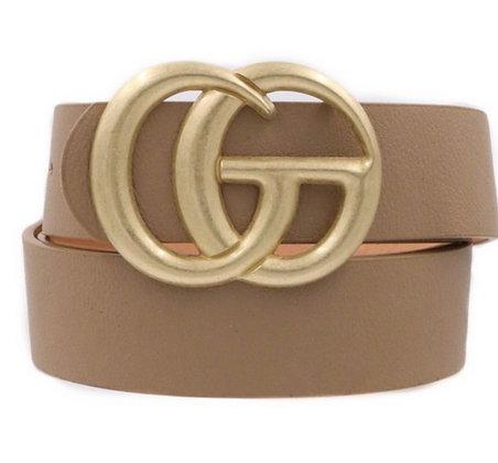 CG Belt Taupe