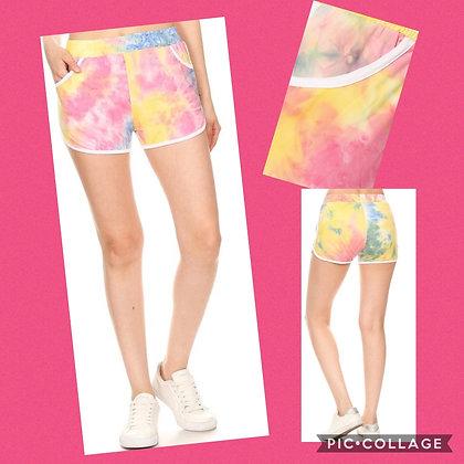 Ava Tie Dye Shorts