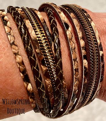Wraparound Multi Strand Bracelet