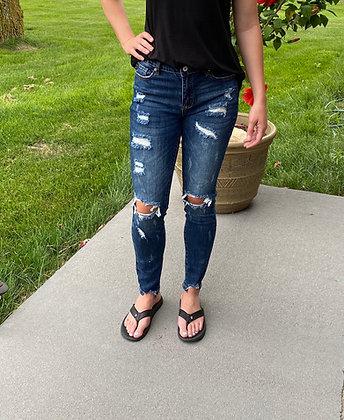 KanCan Super Skinny Distressed Jeans