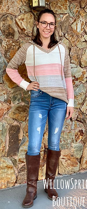 Shiloh  Hooded Sweater