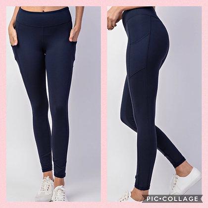Super Soft Yoga Pants Midnight Blue