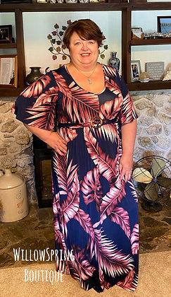 Retro Inspired Maxi Dress