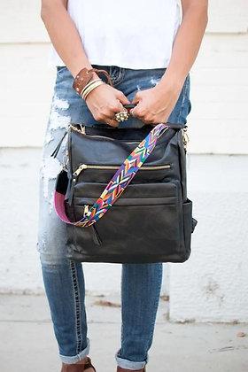 Stevie Guitar Strap Backpack Bag Black
