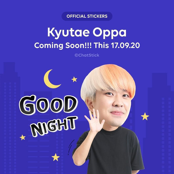 """Official Stickers """"Kyutae Oppa"""""""
