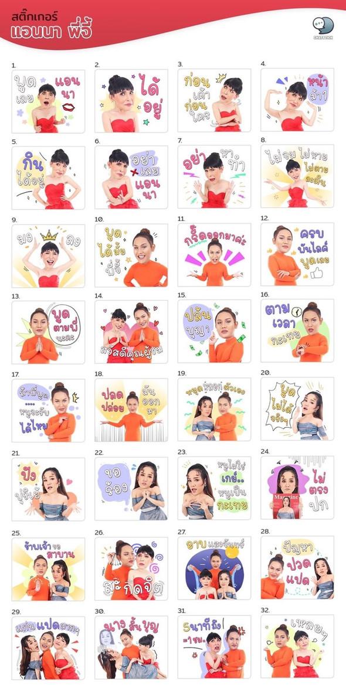 Stickers K.Anna