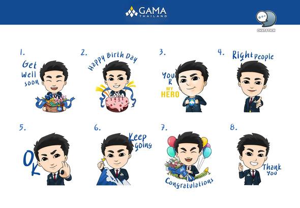 STICKER GAMA THAILAND