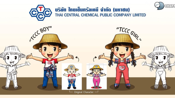 CHARACTER DESIGN TCCC