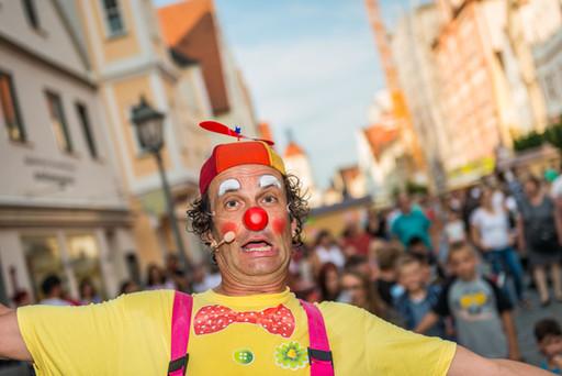 Meine Clowns Straßenshow