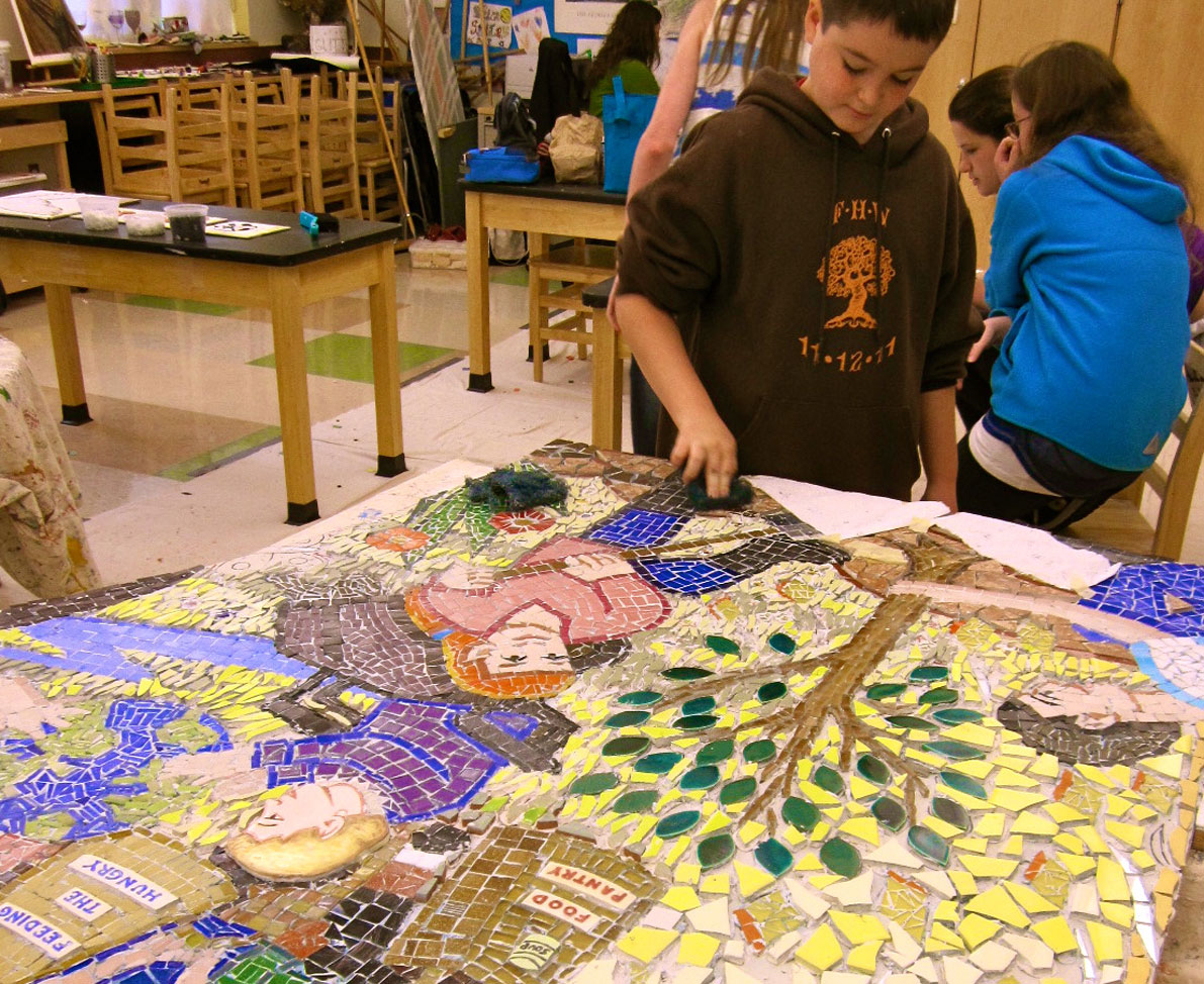 12. Rashi Mosaic school workship