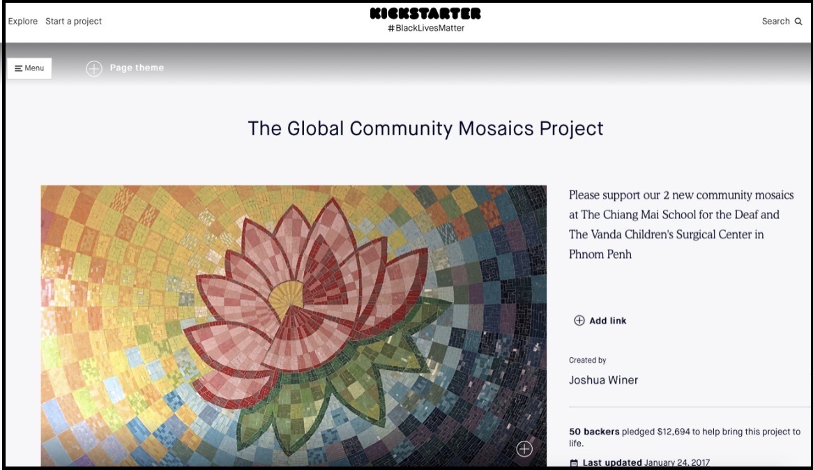 The Global Community Mosaics Project