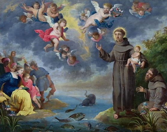 St.Antony Preaches to the Fish