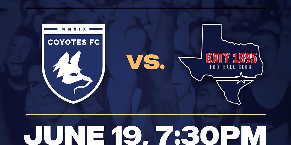 Coyotes FC vs KAty 1895