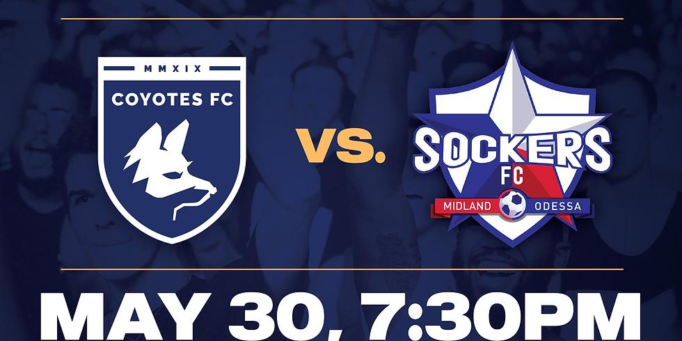 Coyotes FC vs Midland Odessa Sockers FC