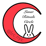 Lunar Rituals Circle logo