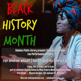 Black History Month at Hoboken Public Li