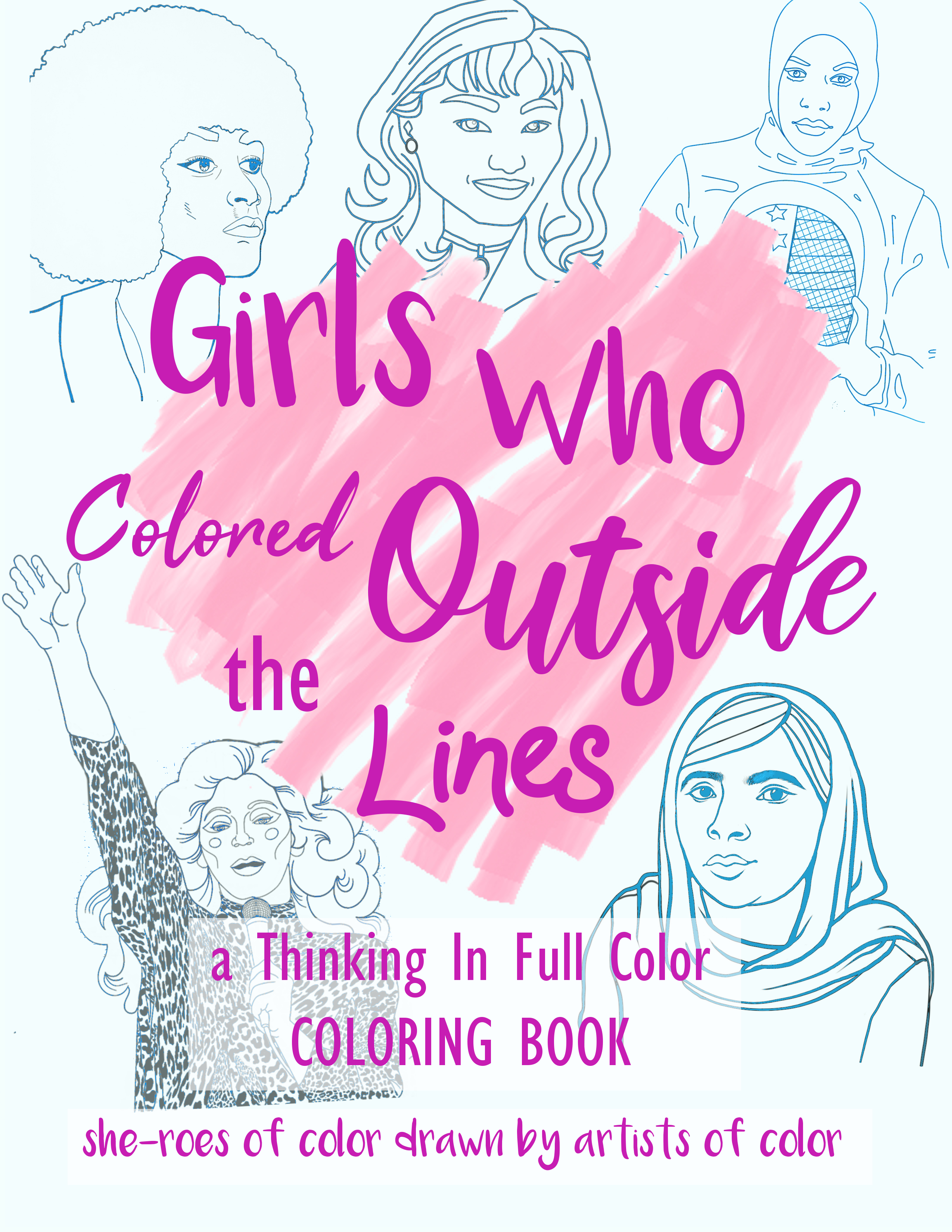 Grab our coloring book for the holidays home