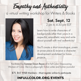 Empathy and Authenticity Writers and Boo