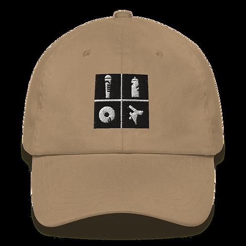 Embroidered Hip Hop Dad Hat