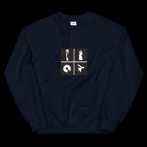 Unisex Hip Hop Sweatshirt