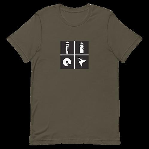 Short-Sleeve Unisex Hip Hop Premium T-Shirt