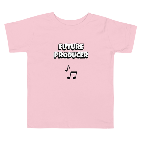 Toddler Short Sleeve Future Producer Tee