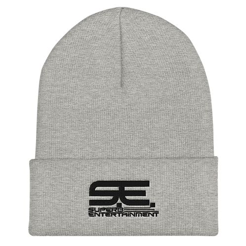 Cuffed 3D Embroidered Superb Beanie