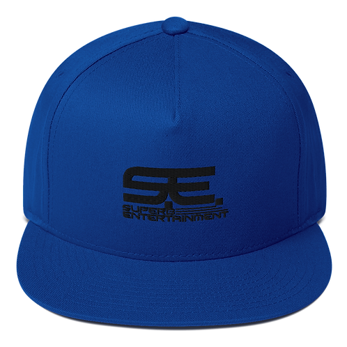 Flat Bill Embroidered Superb Cap