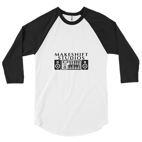 3/4 Sleeve Makeshift Studios Raglan Shirt