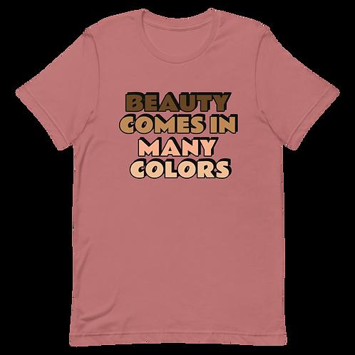 Short-Sleeve Unisex Beauty T-Shirt
