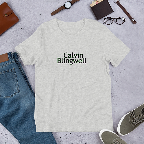 Short-Sleeve Unisex Calvin Blingwell T-Shirt