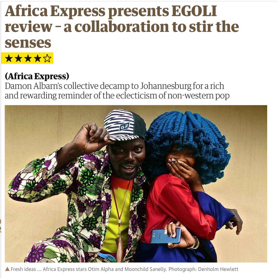 AFRICA EXPRESS - GUARDIAN