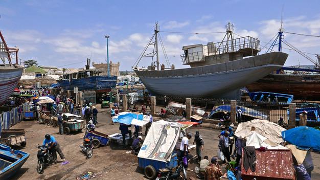ESSAOUIRA SHIPYARD