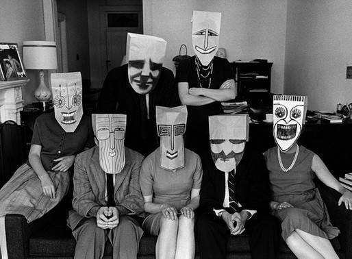[Art/Culture] The Paper Bag Masks of Saul Steinberg (1914 - 1999)