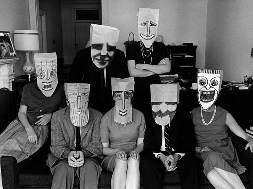 [Art/Culture] Saul Steinberg: Paper Bag Masks (1914-1999)