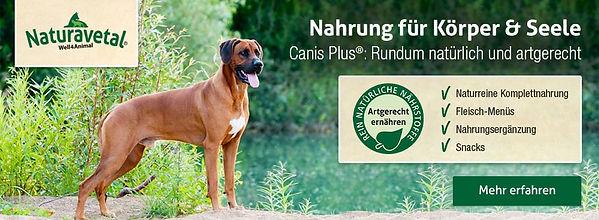 Naturavetral gesundes Hundefutter
