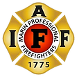 Marin Professioal Firefighters Seal