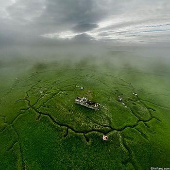Японские окопы на острове Шумшу
