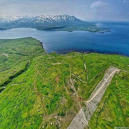 Японский Аэродром на острове Шумшу
