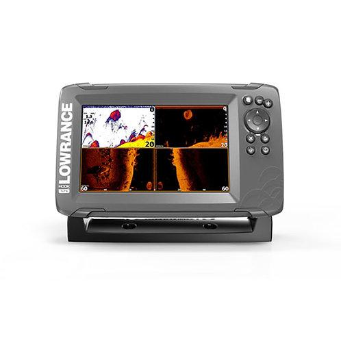 """HOOK²-7x TripleShot: Sondeur GPS Couleur 7"""" avec sonde TA 2D/ DS/ SC"""