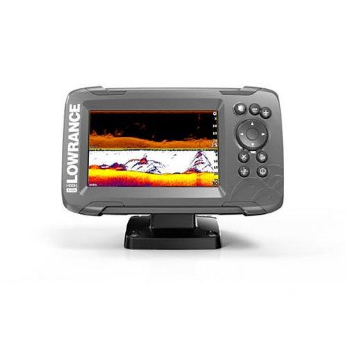 "HOOK²-5x SplitShot: Sondeur GPS Couleur 5"" avec sonde TA 2D/Downscan"